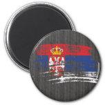 Diseño servio fresco de la bandera imanes para frigoríficos