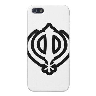 Diseño sikh del Punjabi del Sikhism de Khanda Khal iPhone 5 Protectores