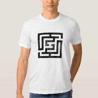 Diseño simétrico 1 remera