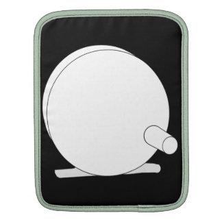Diseño simple del carrete de la mosca manga de iPad