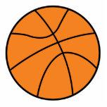 diseño simple del vector del baloncesto escultura fotografica