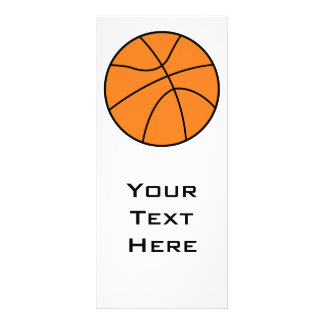 diseño simple del vector del baloncesto lonas publicitarias