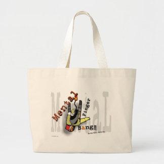 Diseño social del artista del terrorista de los me bolsas