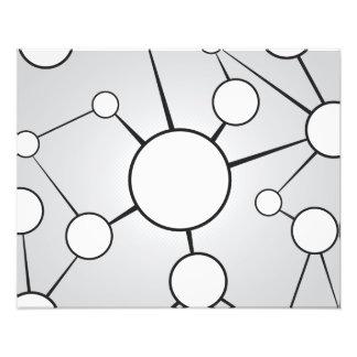 Diseño social del diagrama de los círculos fotografías