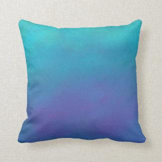 Diseño soñador del extracto de los azules cojín