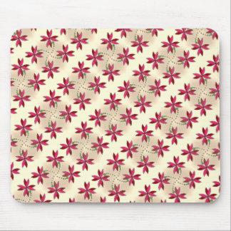 Diseño suave de la flor tapetes de ratón
