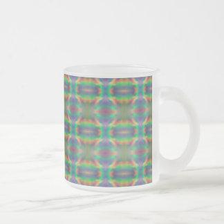 Diseño suave del extracto de las bandas de luces d taza de café