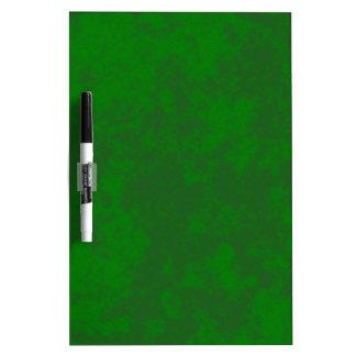 Diseño suave del Grunge Green2 Pizarras Blancas De Calidad