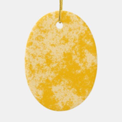 Diseño suave del Grunge Orange1 Ornamentos De Reyes Magos