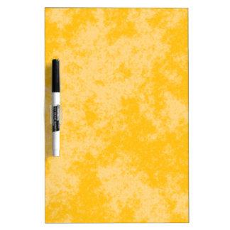 Diseño suave del Grunge Orange1 Pizarras Blancas De Calidad