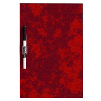 Diseño suave del Grunge Red1 Pizarras