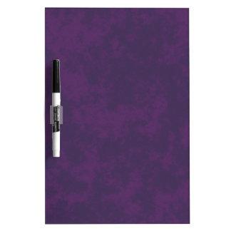 Diseño suave del Grunge Violet3 Pizarras Blancas De Calidad
