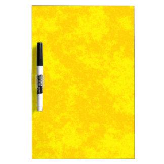Diseño suave del Grunge Yellow1 Pizarra Blanca