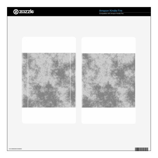 Diseño suave gris del Grunge Skin Para Kindle Fire