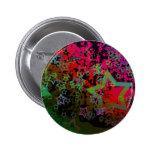 Diseño sucio colorido adaptable de la estrella pins