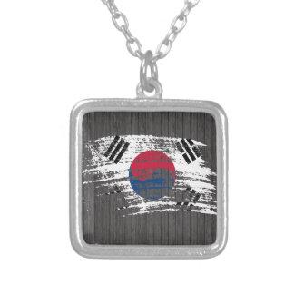 Diseño surcoreano fresco de la bandera pendiente personalizado