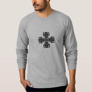 Diseño T/shirt del caminante Playera