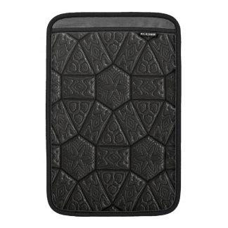 Diseño tallado extranjero negro fundas MacBook