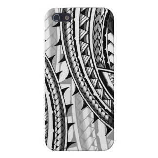 Diseño/tatuaje tribales polinesios tradicionales iPhone 5 funda