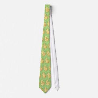 Diseño tejado lazo del amante de Sun Corbatas Personalizadas