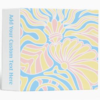 """Diseño temático de la playa en colores en colores carpeta 2"""""""
