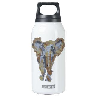 Diseño temático del elefante botella isotérmica de agua