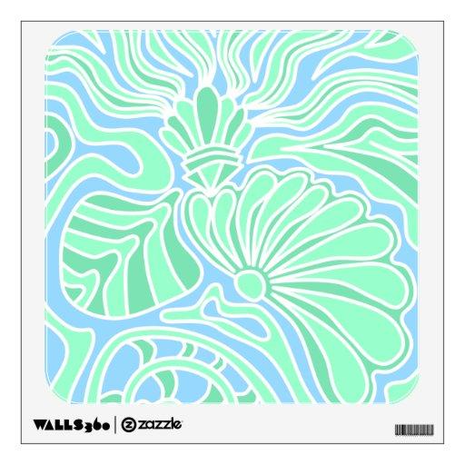 Diseño temático subacuático decorativo