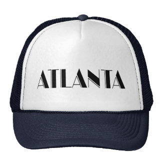 Diseño tipográfico de Atlanta Georgia Gorros