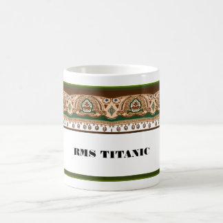 Diseño titánico de la primera clase taza clásica