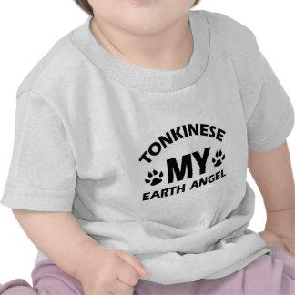 diseño tonkinese del gato camiseta