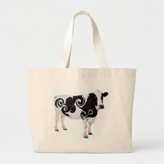 Diseño torcido de la vaca bolsa