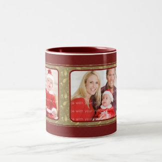 Diseño tradicional elegante del navidad tazas de café