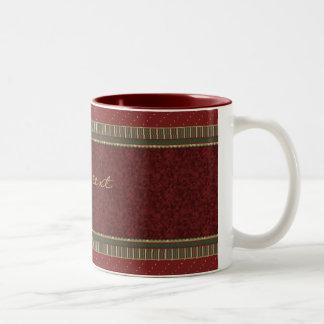 Diseño tradicional elegante del navidad tazas