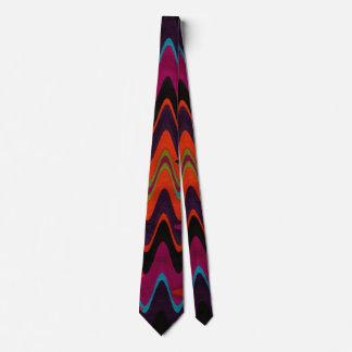 Diseño tribal abstracto en el lazo de los hombres corbatas personalizadas