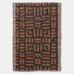 Diseño tribal africano caliente manta