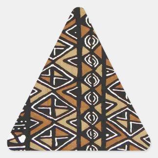 Diseño tribal africano calcomanías de trianguloes personalizadas