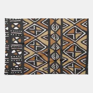 Diseño tribal africano toalla de mano