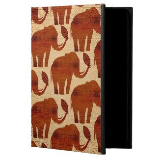 Diseño tribal del arte del elefante