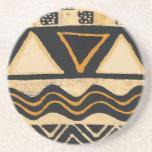 Diseño tribal del nativo americano del sudoeste posavasos diseño