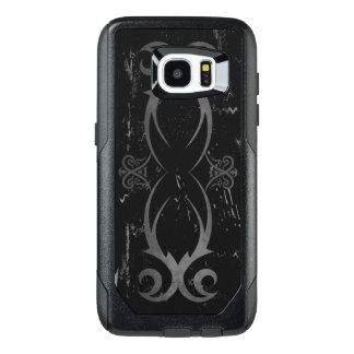 Diseño tribal del tatuaje del Grunge fresco negro Funda OtterBox Para Samsung Galaxy S7 Edge