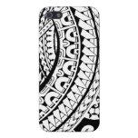 Diseño tribal del tatuaje en los modelos de Marque iPhone 5 Carcasa