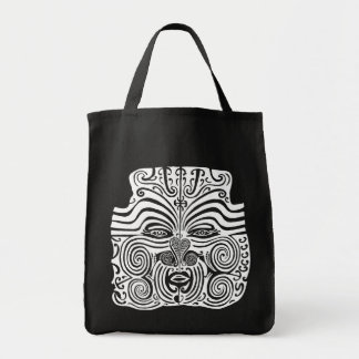 Diseño tribal del tatuaje - Nueva Zelanda maorí Bolsas De Mano