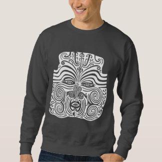 Diseño tribal del tatuaje - Nueva Zelanda maorí Sudaderas Encapuchadas