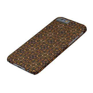 Diseño tribal geométrico africano caliente 2 funda barely there iPhone 6