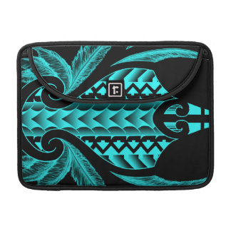 Diseño tribal maorí fresco del tatuaje con las fundas para macbooks