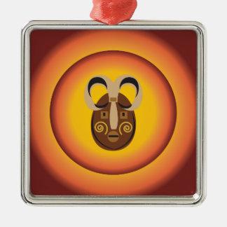 Diseño tribal primitivo del resplandor de Sun de l Ornamento De Reyes Magos