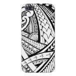 Diseño tribal samoano del tatuaje con las puntas d iPhone 5 carcasas