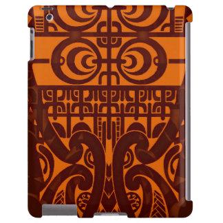 Diseño tribal simétrico fresco del tatuaje de funda para iPad