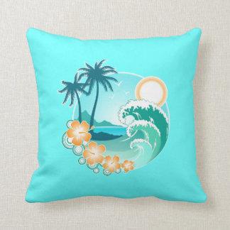 Diseño tropical cojin