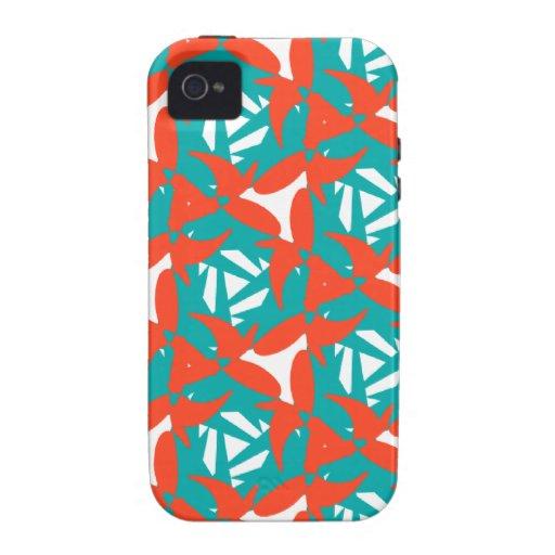Diseño tropical de la sorpresa iPhone 4/4S funda